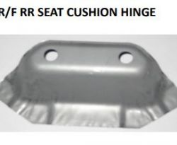 R/F Front Seat Cushion Hing